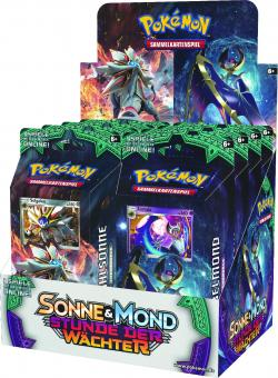 Pokemon Sonne & Mond Serie 2 - Display mit 8 Themendecks - Deutsch