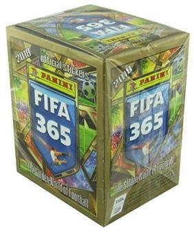 Panini FIFA 365 - 2018 - Sticker - Display mit 50 Tüten