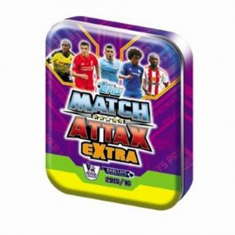 Topps Premier League Match Attax extra 2015/16 - Mini-Tin - englisch