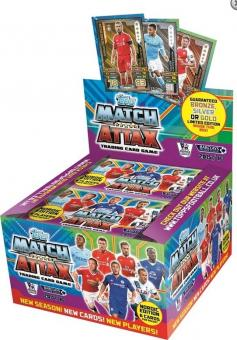 Topps Premier League Match Attax 2015/16 - Display - englisch - Nordic Edition