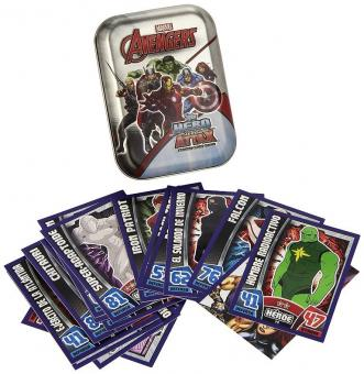 Topps Hero Attax Marvel Avengers - Mini-Tin - englisch