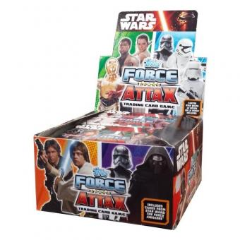 Star Wars - Force Attax - Display mit 24 Booster - englisch