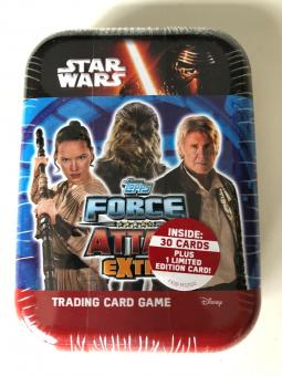 Topps Star Wars Force Attax extra - Mini-Tin - englisch
