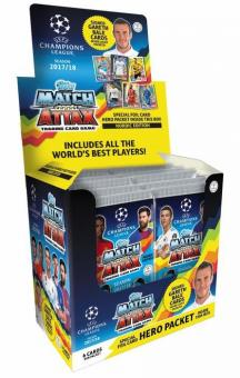 Topps Champions League Match Attax 2017/18 - Display mit 50 Booster- Nordic Edition