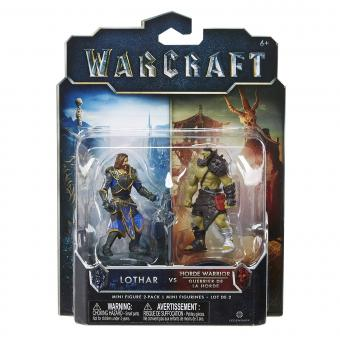 Warcraft Figur 6 cm 2 Pack Durotan & Alliance Sold