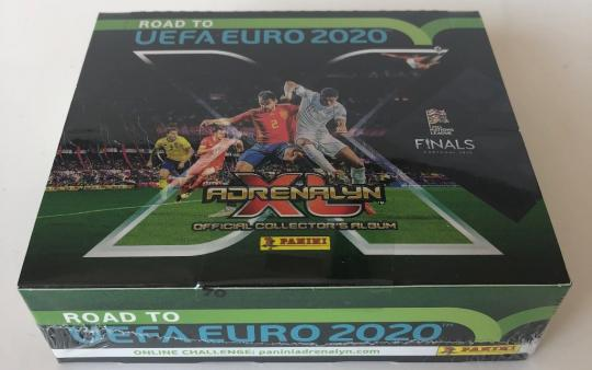 Panini - Adrenalyn XL - Road to Euro 2020 - Display mit 24 Booster