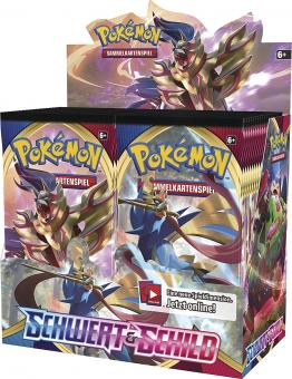Pokemon Schwert & Schild - Serie 2 - 1 Display (36 Booster) - Deutsch