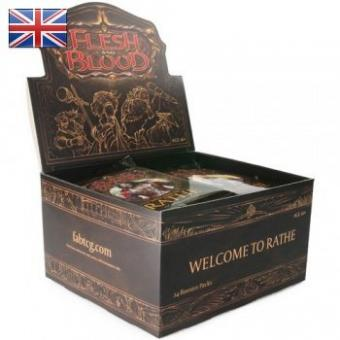 Flesh & Blood TCG - Welcome to Rathe Unlimited - Display mit 24 Booster - EN