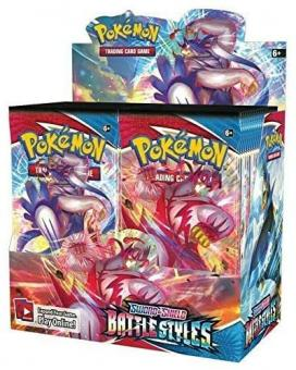 Pokemon englisch - Sword & Shield 5 Battle Styles Booster Display (36 Boosters)