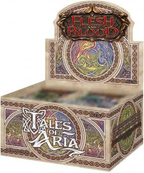 Flesh & Blood TCG - Tales of Aria - First Edition Booster Display (24 Packs) - EN