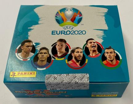 Panini Adrenalyn XL - Euro 2020 - Booster - Display mit 24 Booster