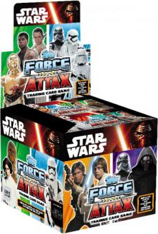 Star Wars Episode 7 Force Attax BoosterDisplay(50x2,00)