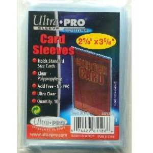 Ultra Pro Standard Schutzhüllen Sleeves 100 x 100er Packs Regular Soft