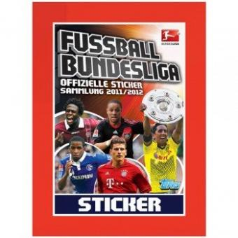 Bundesliga 11/12 -  50 Tüten/250 Sticker - Bundesliga 2011/2012 TOPPS Display