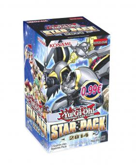 Yu-Gi-Oh! - Star Pack 2014 - Display (25 Booster) - Deutsch