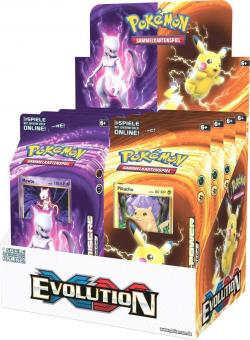 Pokemon XY12 Evolution Themendeck - Display mit 8 Decks - deutsch