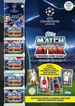 Topps Match Attax Champions League  2015/16  Multipack