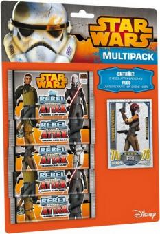 Topps Star Wars Rebel Attax Serie 1 - Multipack