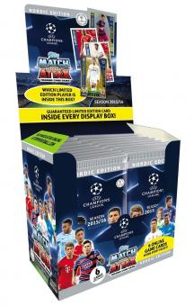 topps Match Attax Champions League 2015/16 Nordic Edition Display 50 Booster ...
