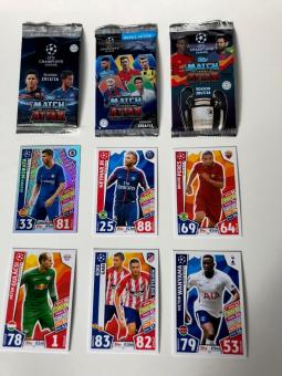 Wurfmaterial Karneval 800 x Fussball-Champions-League Booster topps